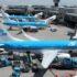 KLM-fly i Amsterdam Schiphol-lufthavnen. Foto: Sascha Porsche / Wikimedia Commons.