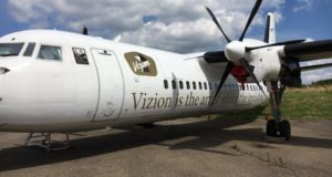 De to Fokker-fly var ejet af Vizion Air, men har en fortid hos VLM Airlines. Foto fra Facebook