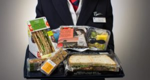 """Food on the Move"" fra Marks & Spencer. (Foto: British Airways)"