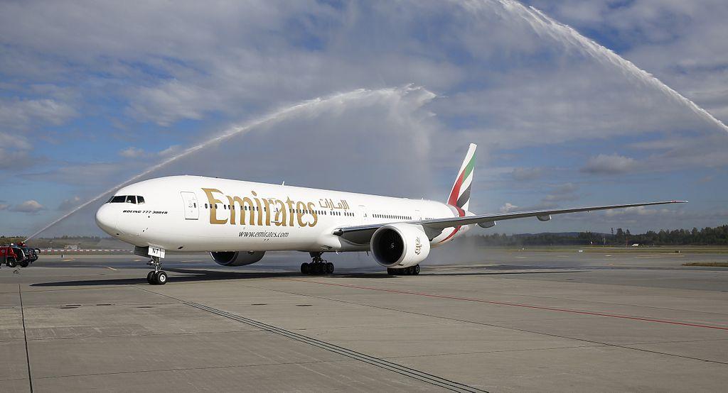 Emirates startede sin Oslo-rute den 1. september 2014. Foto: Oslo Lufthavn AS / Espen Solli