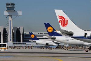 Lufthansa og Air China samarbejder i joint-venture. (Foto Ingrid Friedl/Lufthansa)