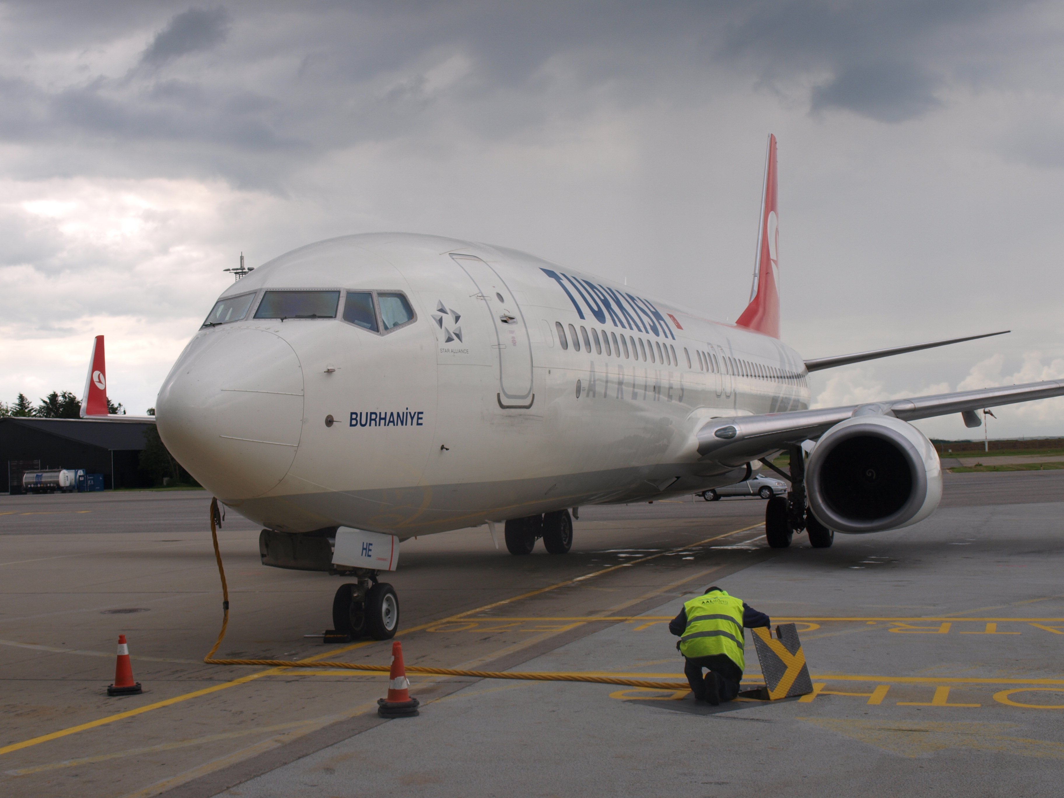 Turkish airlines ålborg lufthavn