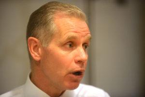 Koncernchef i SAS Rickard Gustafson. (Foto: Joakim J. Hvistendahl)