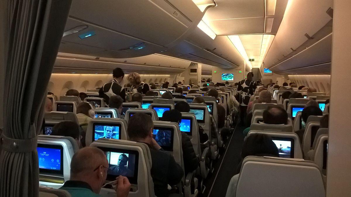 Mange kinesiske turister flyver med Finnairs A350-fly til Helsinki og derfra videre til København. (Foto: SeppVei )