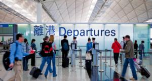 Terminal 1 i Hong Kong International Airport. (Foto: HKIA)