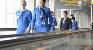 KLM besætning (Foto: Sameh Mostafa)