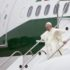 "Pave Frans kommer til Malmø i ""Shepherd One"". (Arkivfoto: L'Osservatore Romano)"