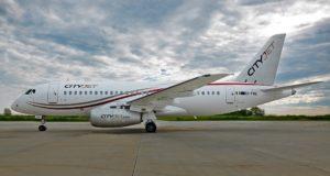 CityJet benytter Sukhoi Superjet SSJ100 (Foto: CityJet)