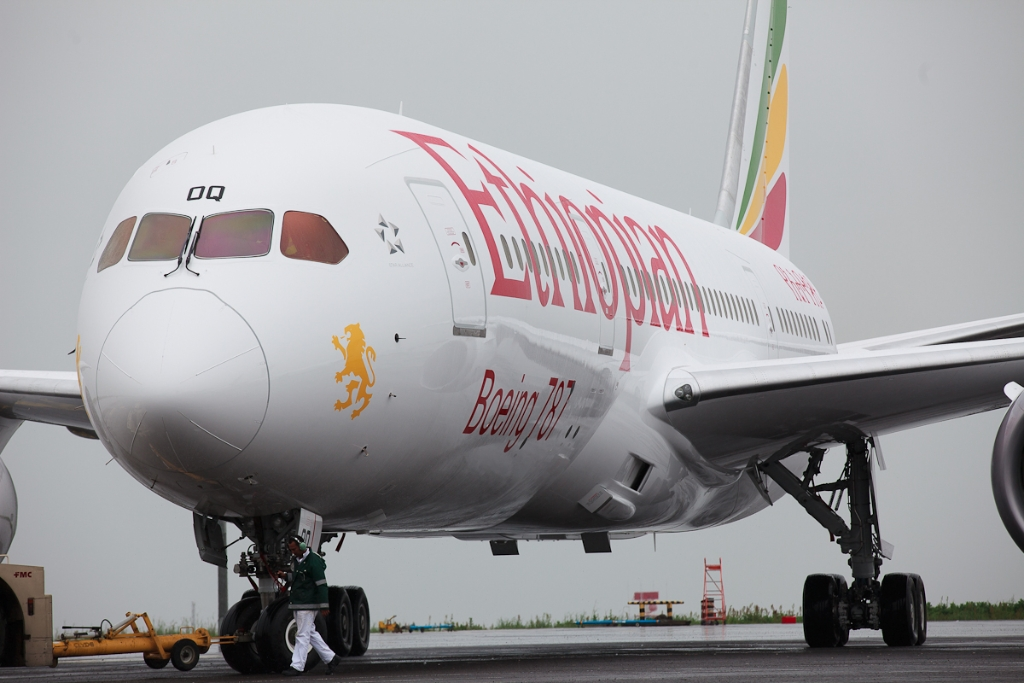Ethiopian Airlines Boeing 787-8 Dreamliner. (Foto: Jeremy Dwyer-Lindgren/NYC Aviation)