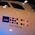 """SAS' første Airbus A320neo har fået navnet """"Sol Viking"""". Foto: Morten Lund Tiirikainen"""