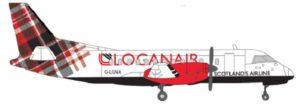 Loganair vil i 2017 få et helt nyt design til selskabets fly.