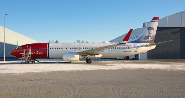 Norwegian Boeing 737-800 LN-NII. (Foto: Skidmarks_1/flickriver)