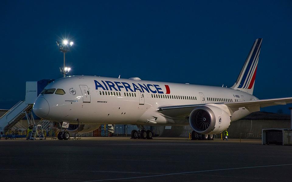 Første Boeing 787 Dreamliner før levering til Air France. (Foto: Boeing)