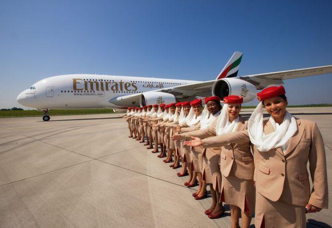 Emirates A380-800 (Foto: Airbus)