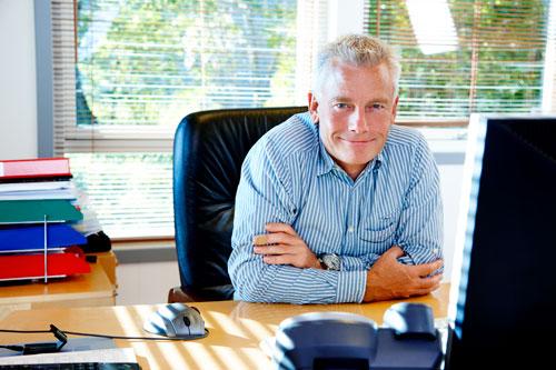 Administrerende direktør Jesper Rungholm fra Danish Air Transport (Foto: DAT)