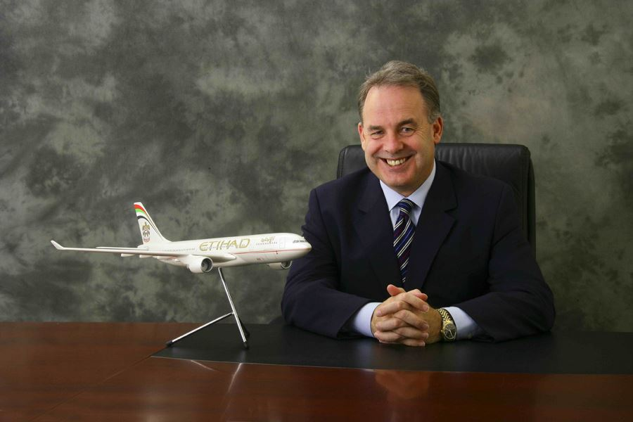 James Hogan, CEO hos Etihad Aviation Group.
