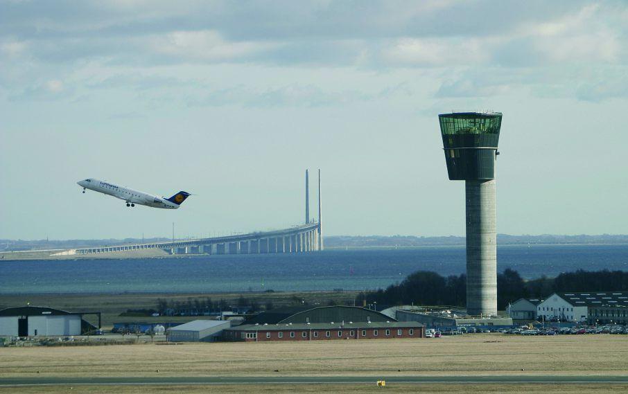 Udsigt over Øresund. (Foto: Københavns Lufthavne A/S)