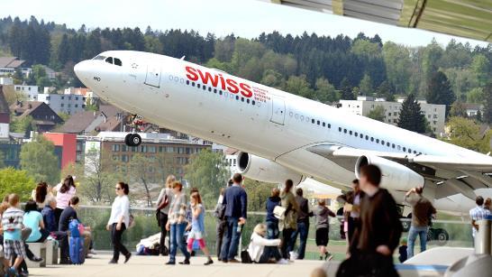 Observation Deck B i Zürich Lufthavn. (Foto: Zurich Airport)
