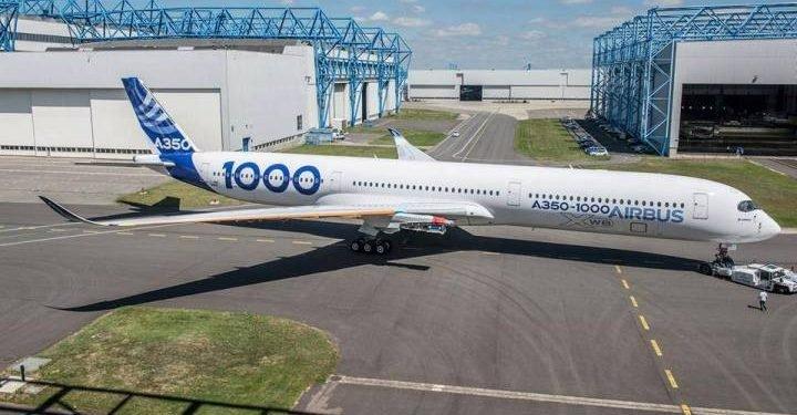 Airbus A350-1000 (Foto: Airbus)