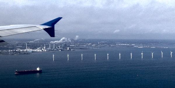 Indflyvning til Københavns Lufthavn. (Foto: Lifeinnorway.net)