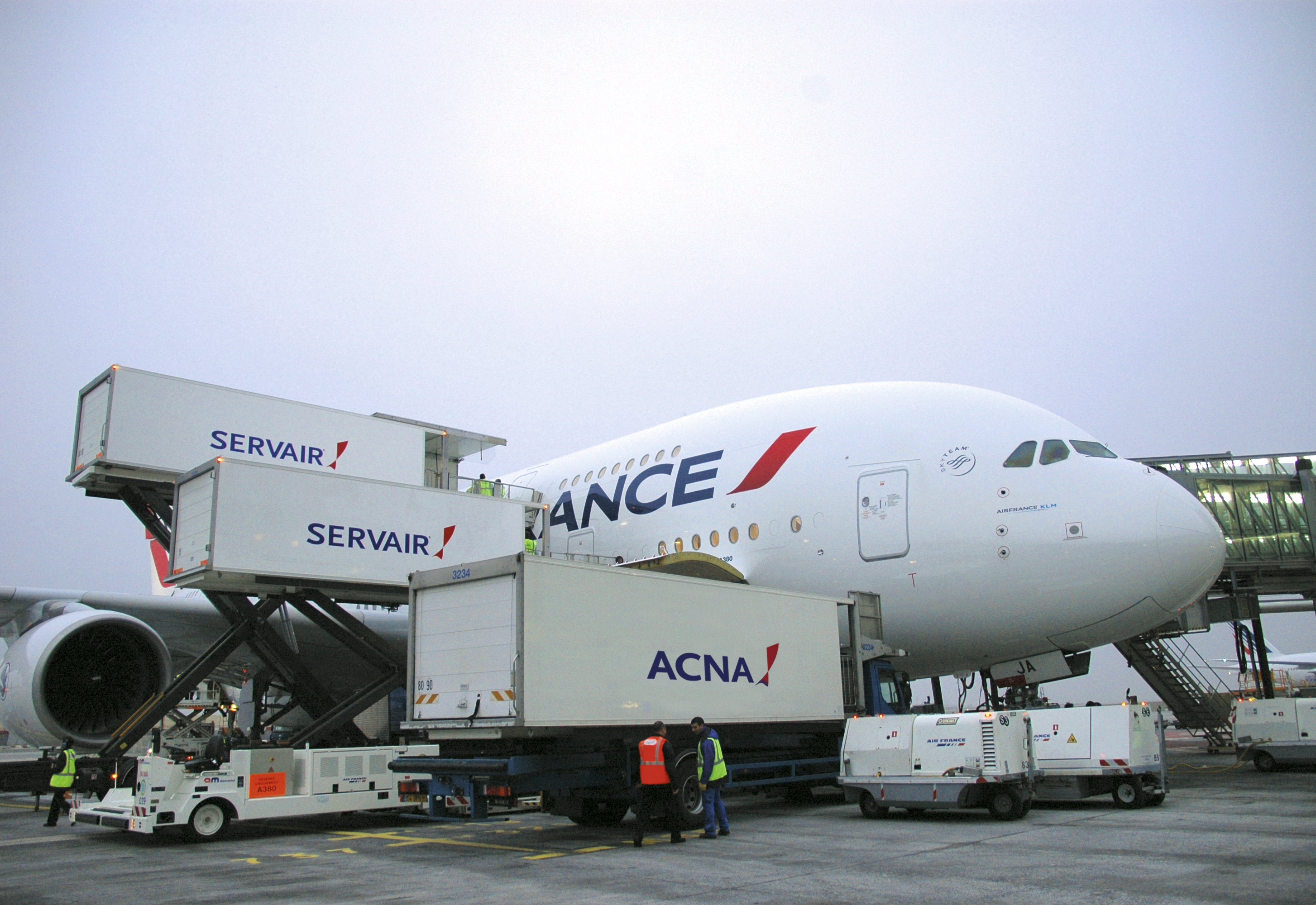 Servair leverer cateringydelser til Air France. (Foto: Servair)