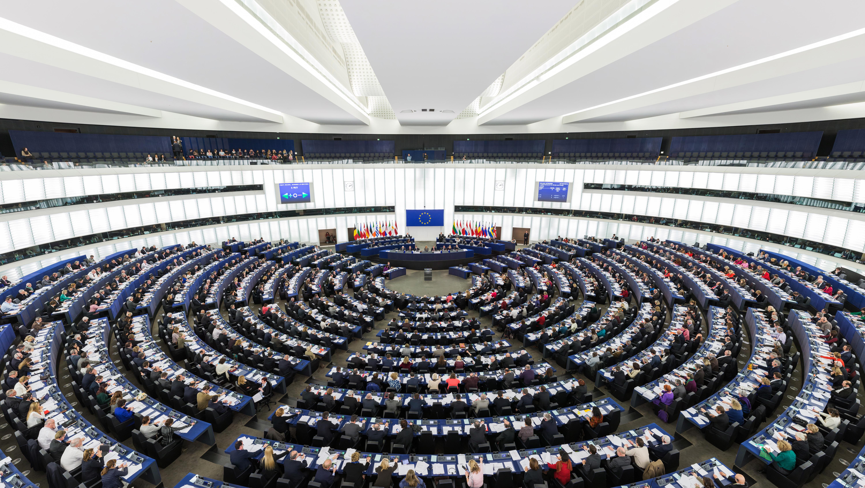 Europa-Parlamentet i Strasbourg (Foto: DAVID ILIFF. License: CC-BY-SA 3.0)