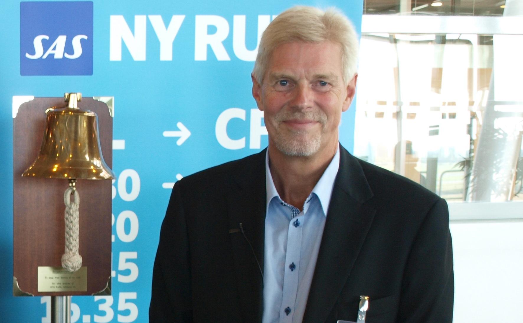 Kjeld Zacho Jørgensen, administrerende direktør i Billund Lufthavn (Foto: Ole Kirchert Christensen)