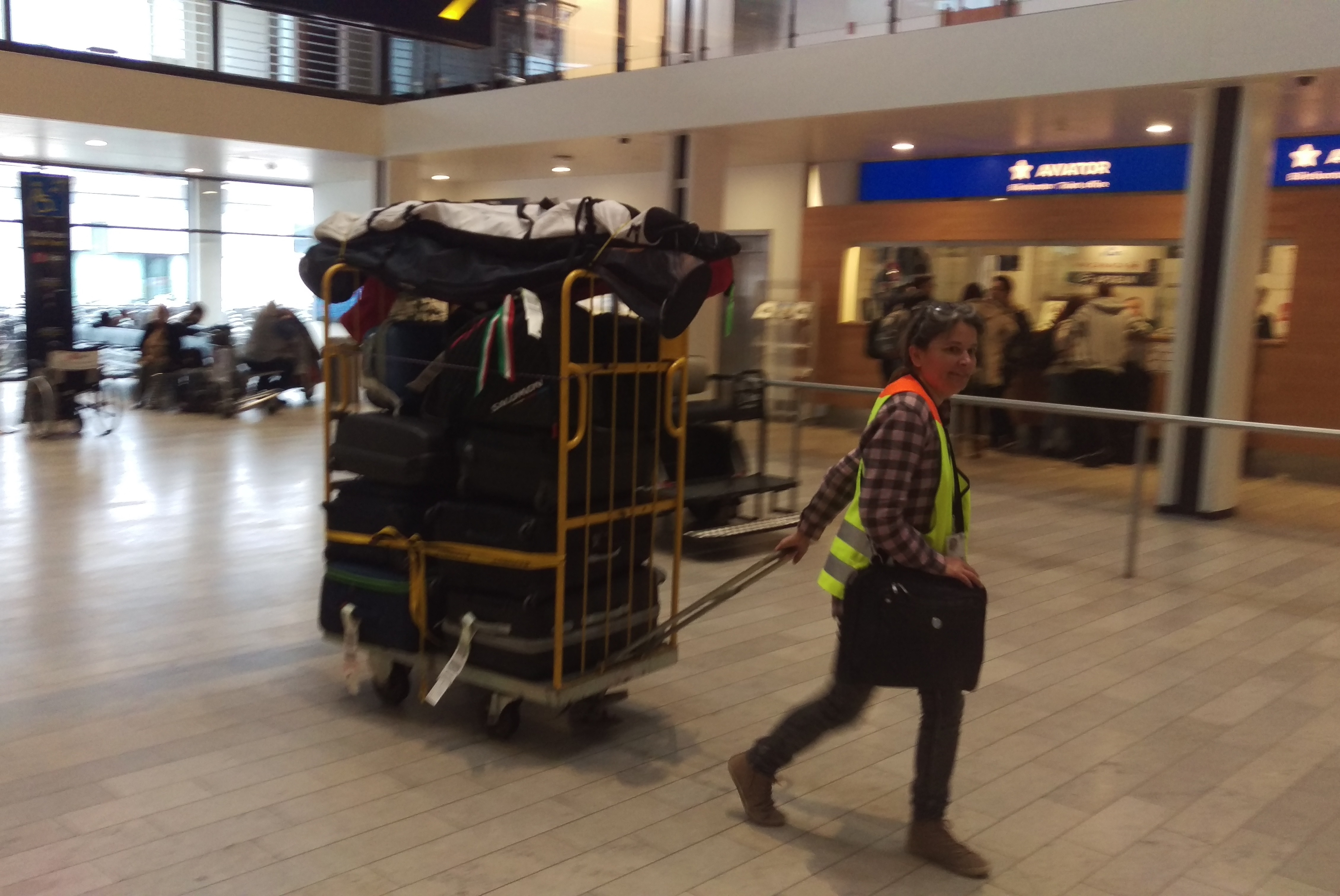 Valizo bagageservice i Københavns Lufthavn. (Foto: Valizo)