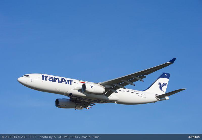 Iran Air har modtaget to Airbus A330-200 fly, som snart indsættes på selskabets to svenske ruter. Foto: Airbus.