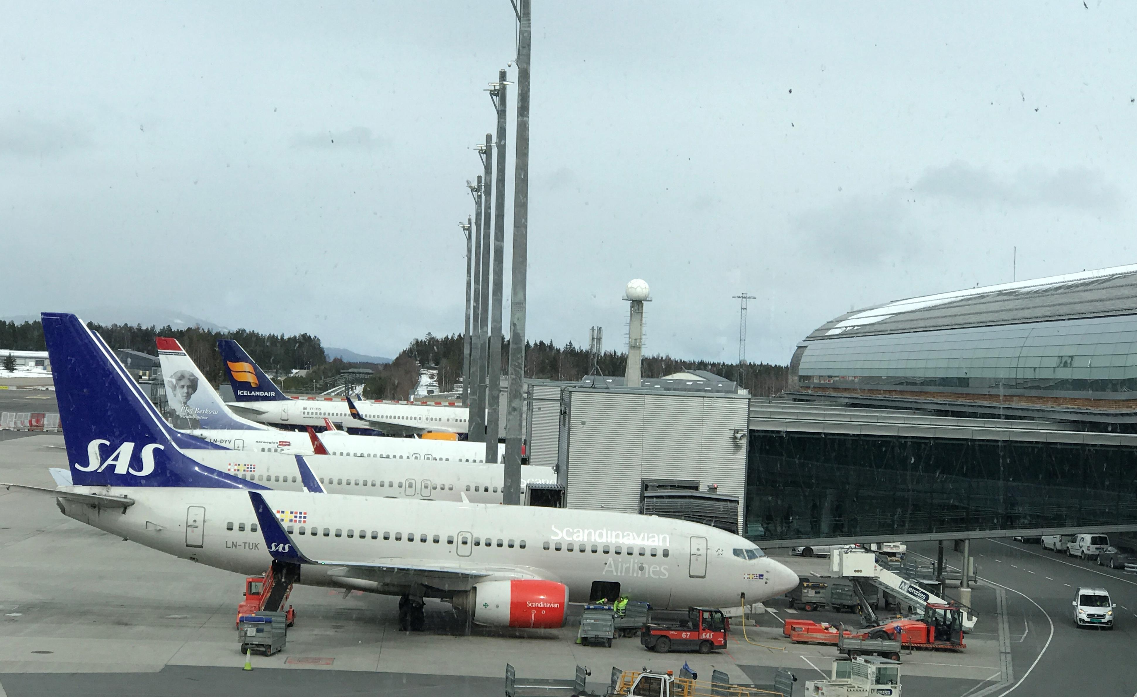 Oslo Lufthavn Gardermoen (Foto: Ole Kirchert Christensen)