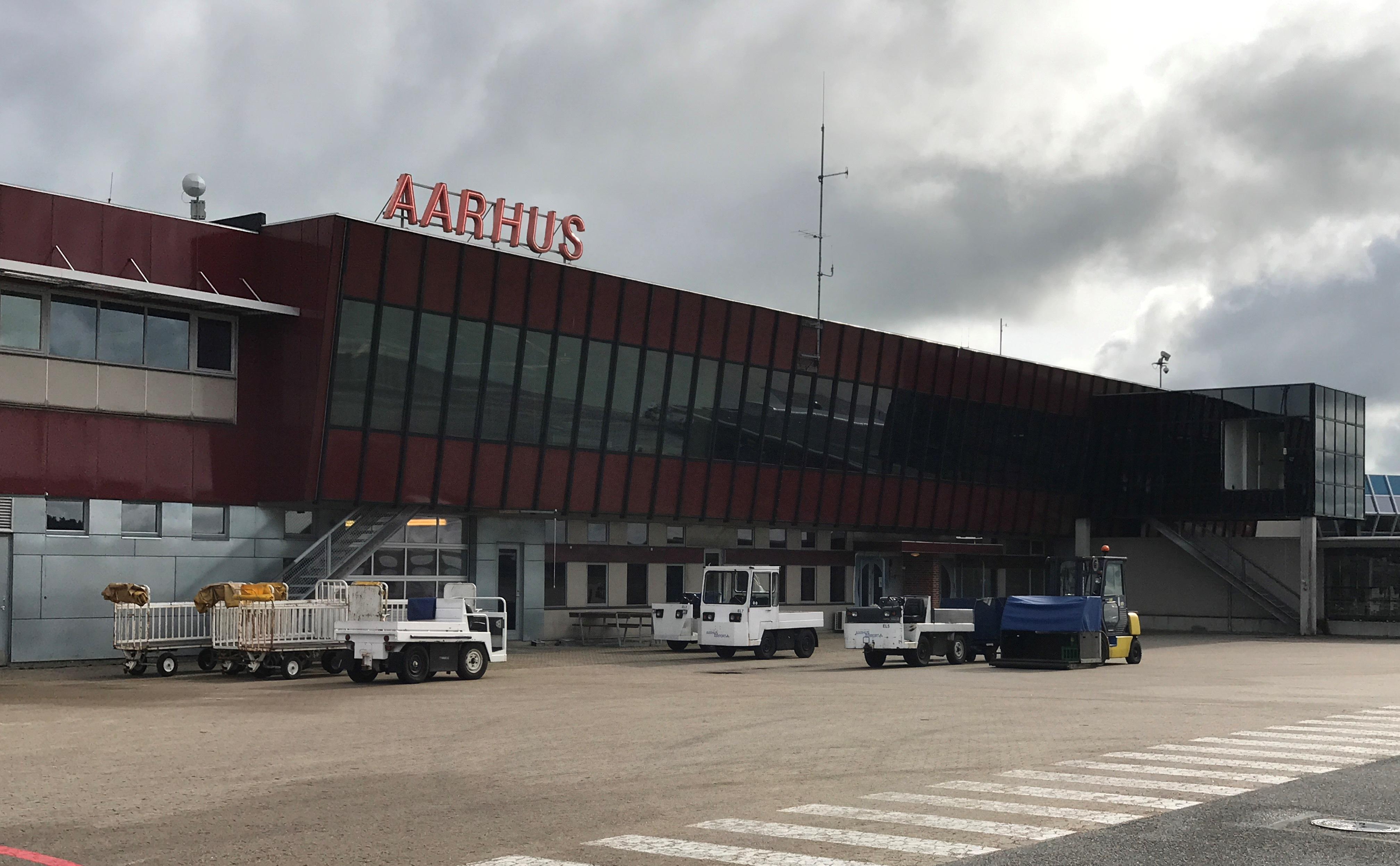 Terminalbygning i Aarhus Lufthavn (Foto: Ole Kirchert Christensen)
