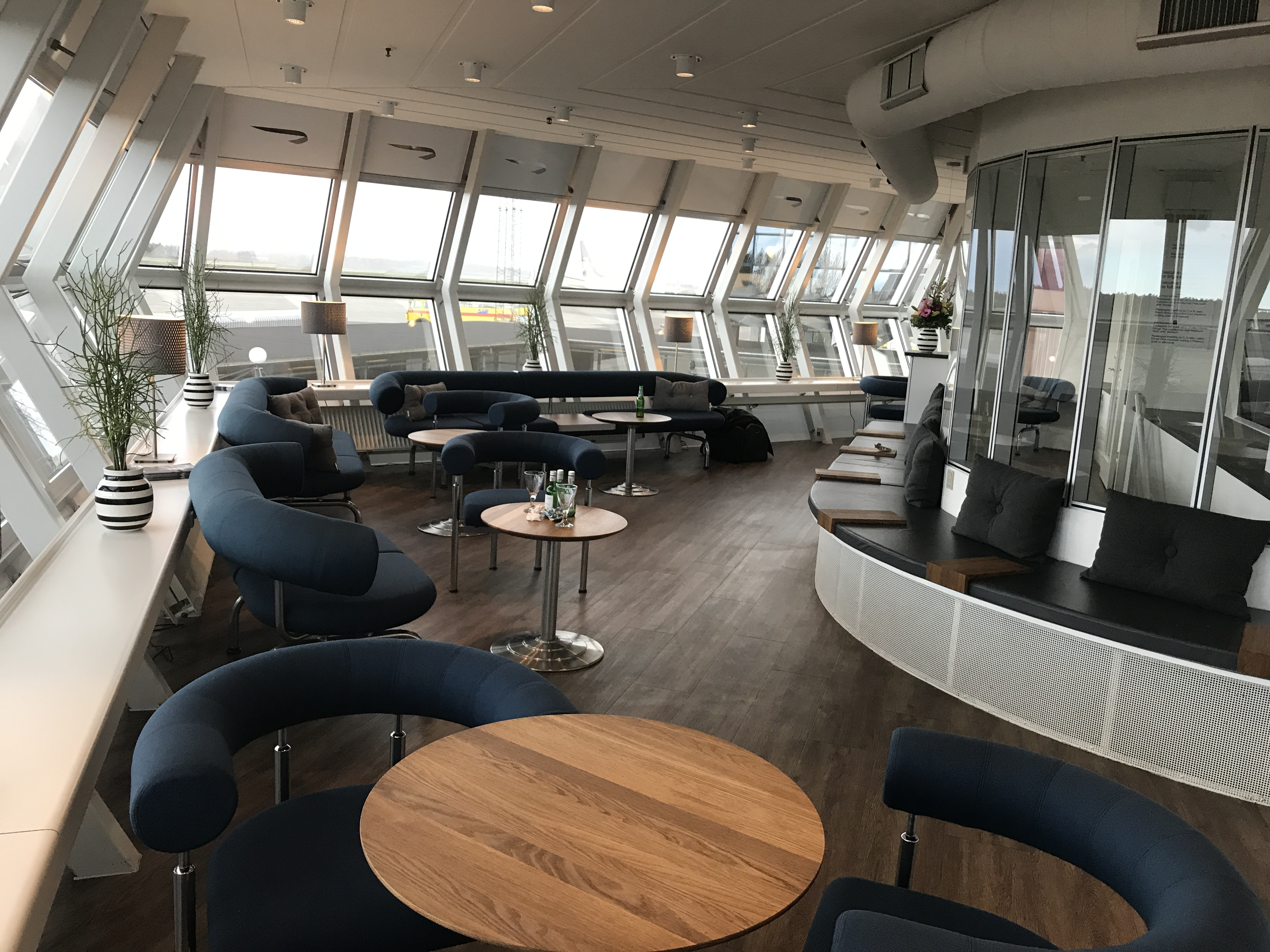 Aarhus Airport Executive Lounge (Foto: Ole Kirchert Christensen)