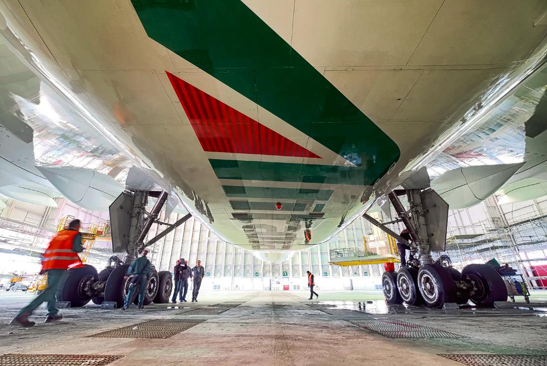 Alitalia Boeing 777-200 (Foto: Alitalia)