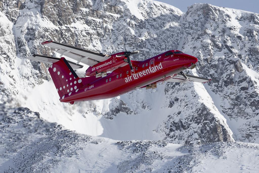 Air Greenland Dash-8-200 (Foto: Air Greenland)