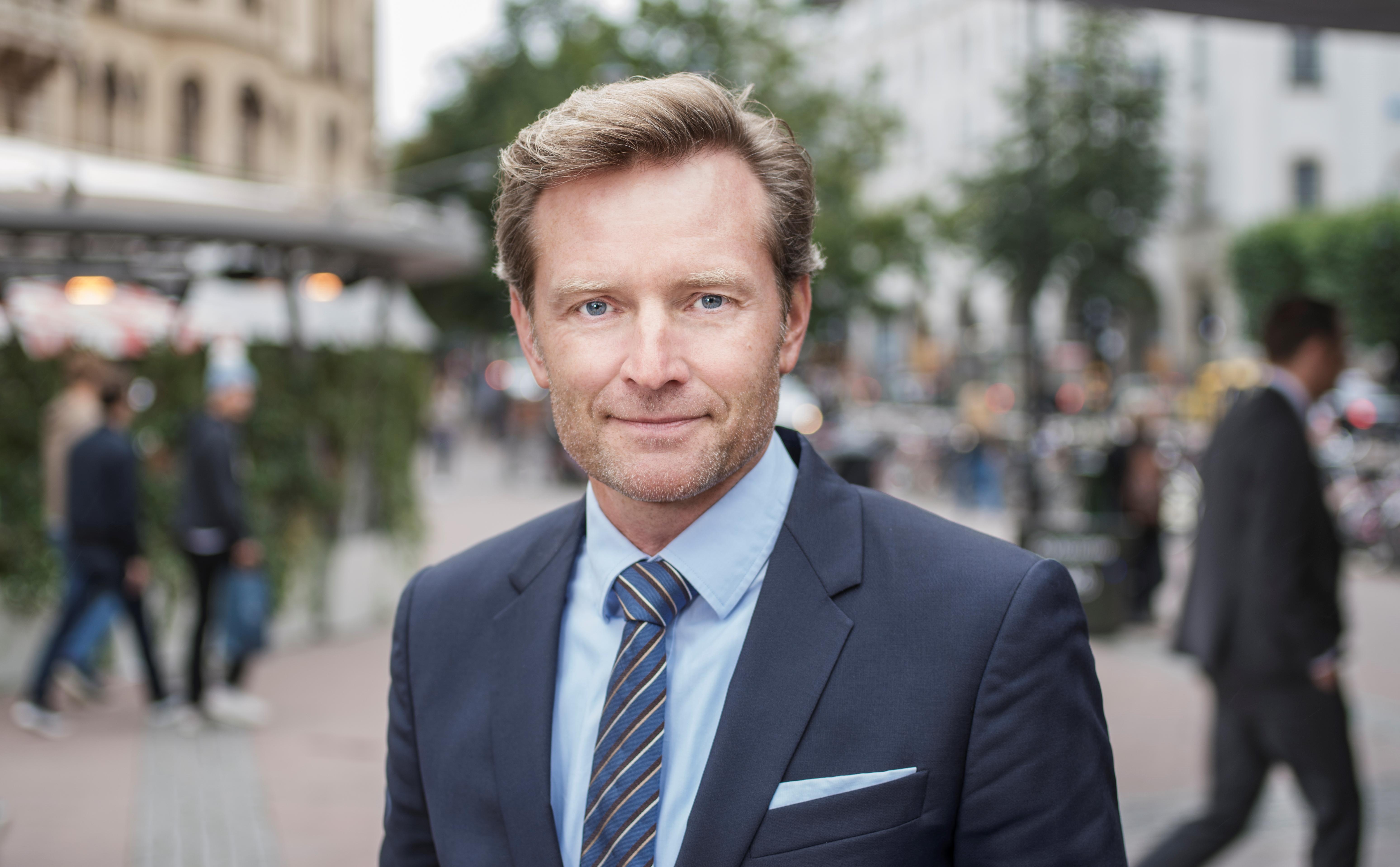 Morten Boje Hviid, External Communications & Public Affairs Director hos Københavns Lufthavn. (Foto: Jäger Arén)