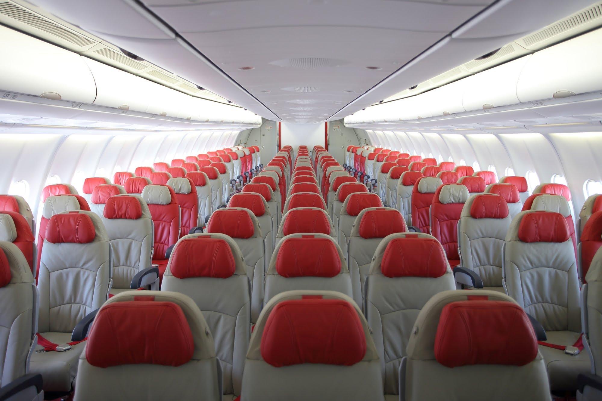 Kabine i A330-300 hos AirAsia X.