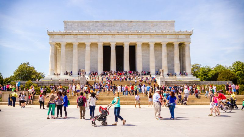 Lincoln Memorial i Washington DC (Foto: IPW.com)