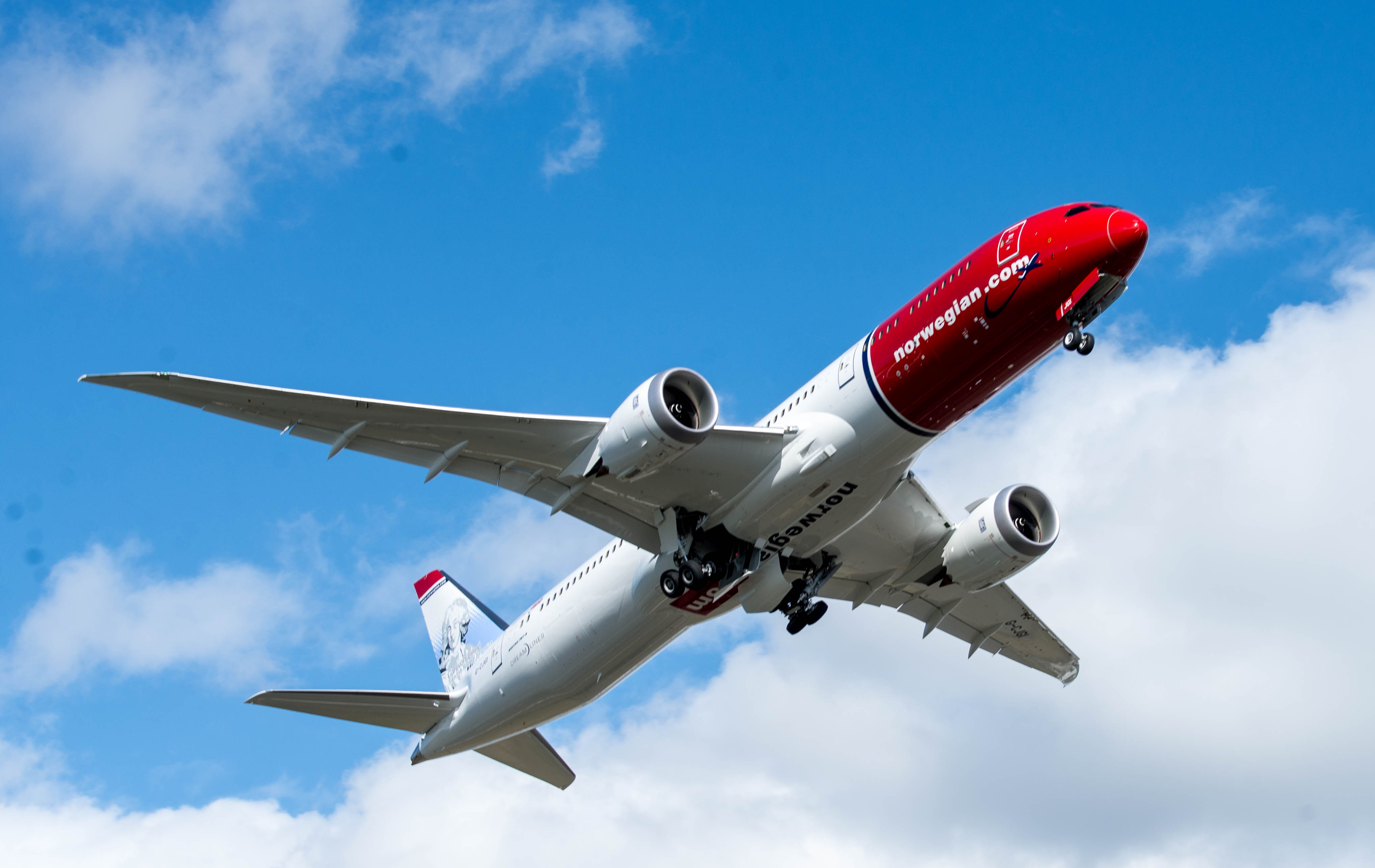 Norwegian Boeing 787-9 Dreamliner (Foto Norwegian | Commons Creative Attribution)