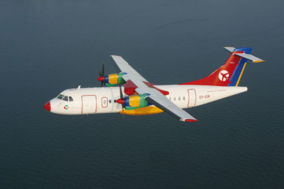 ATR 42-300 fra Danish Air Transport. (Foto: DAT)