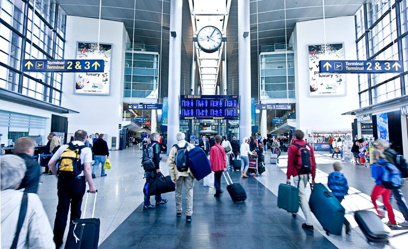 Terminal 3 i Københavns Lufthavn. Foto: Københavns Lufthavn.