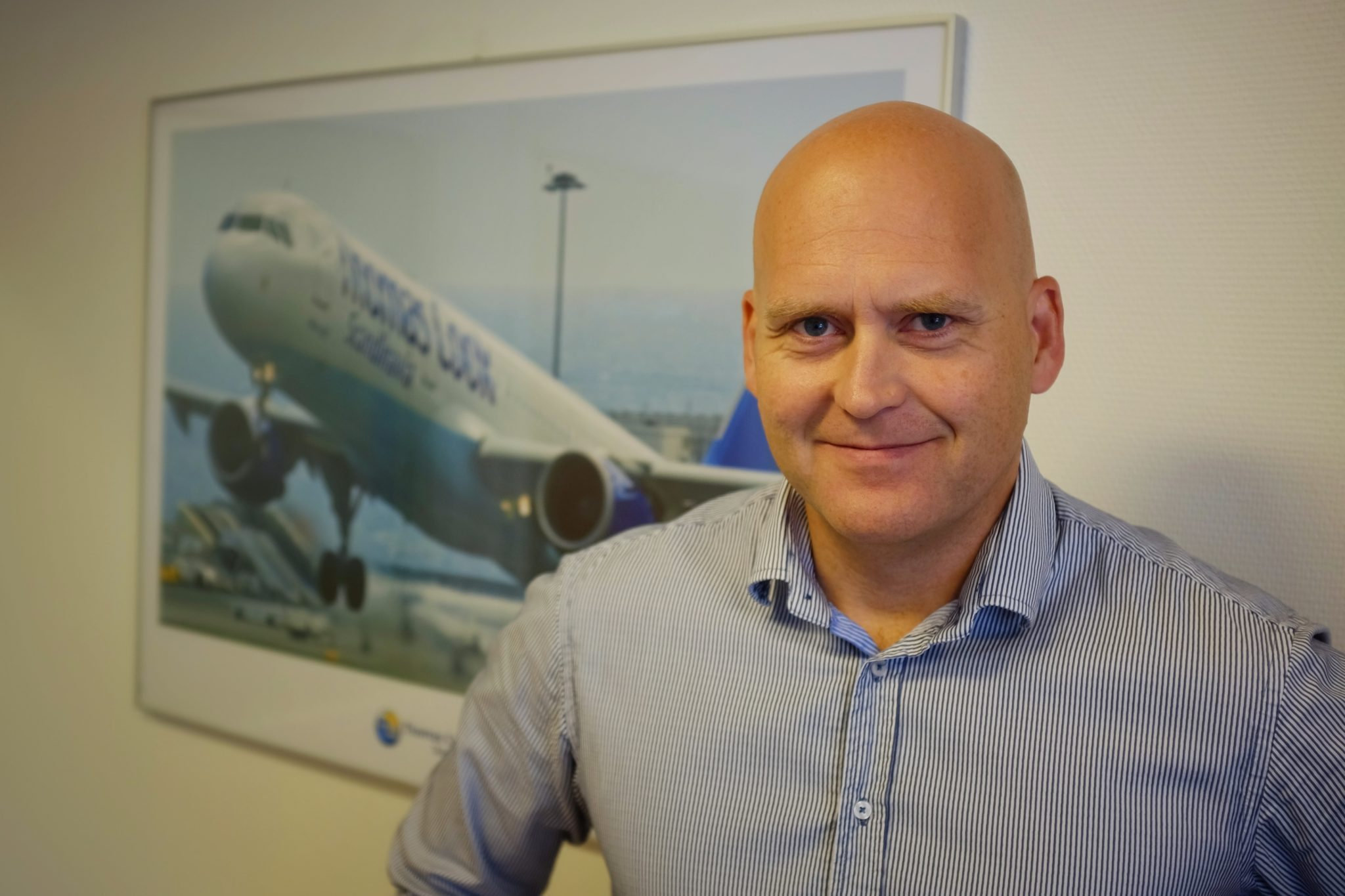 Henning Romme-Mølby fra Thomas Cook Airlines Scandinavia. (Foto: Standby.dk)