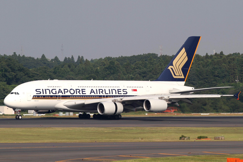 Singapore Airlines – Airbus A380-800. (Foto: Kentaro Iemoto)