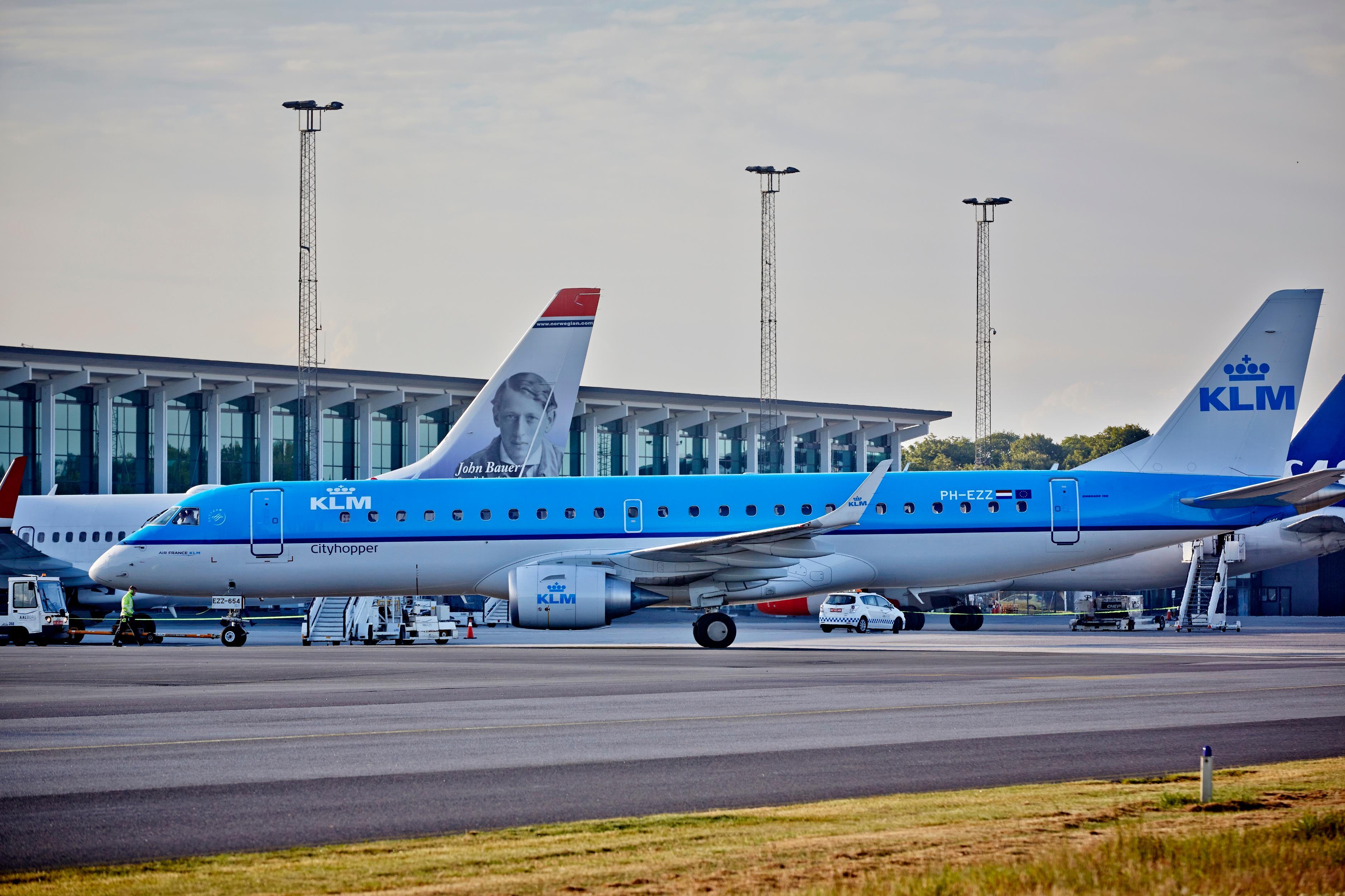 Travlhed i Aalborg Lufthavn (Foto: Aalborg Lufthavn)