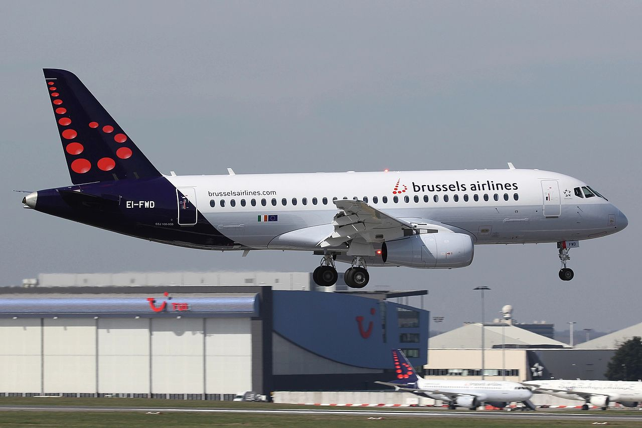 Brussels Airlines Sukhoi Superjet 100 SSJ100 (Foto: Ronald Vermeulen | Creative Commmons 4,0)