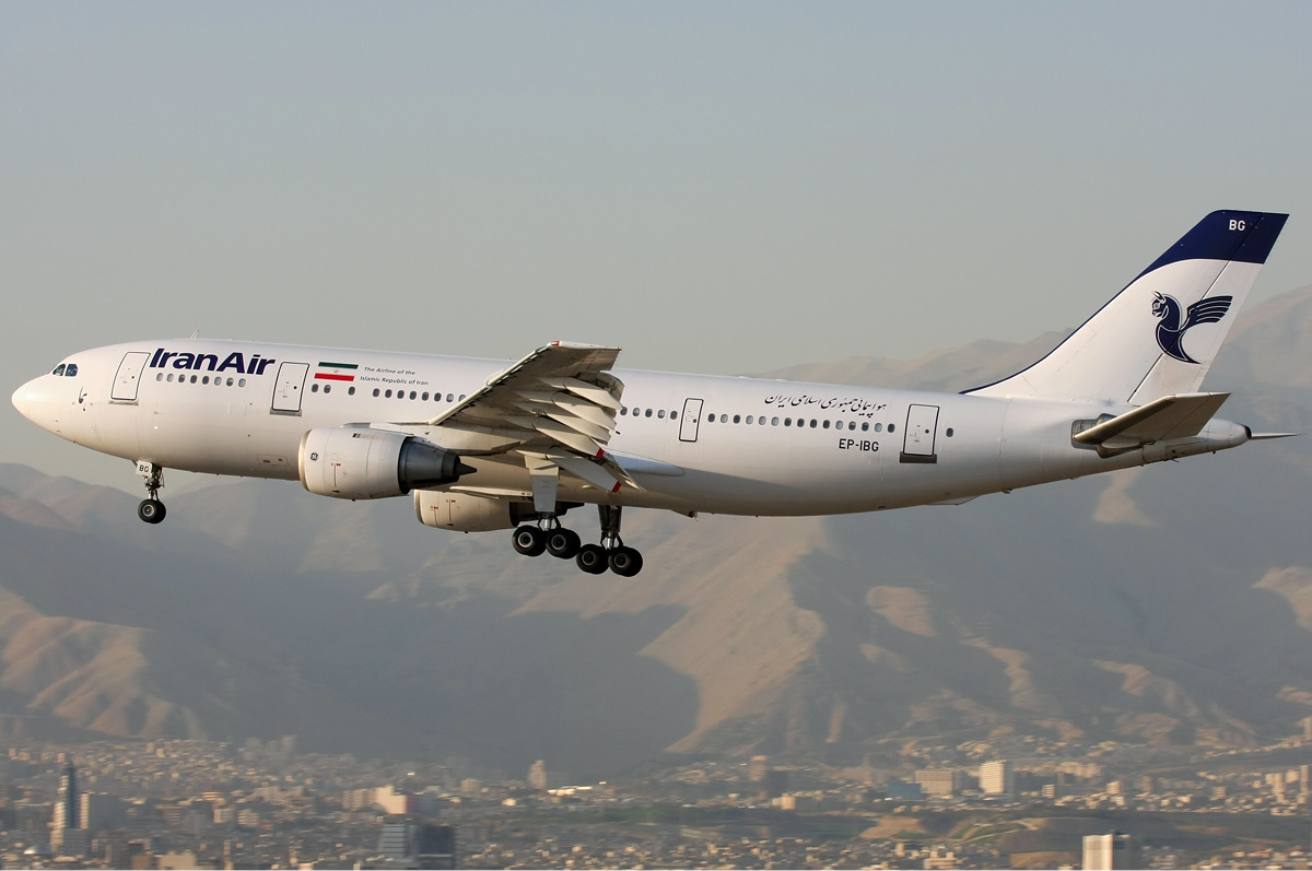 Iran Air Airbus A300. (Foto: Shahram Sharifi | GNU Free Documentation License)