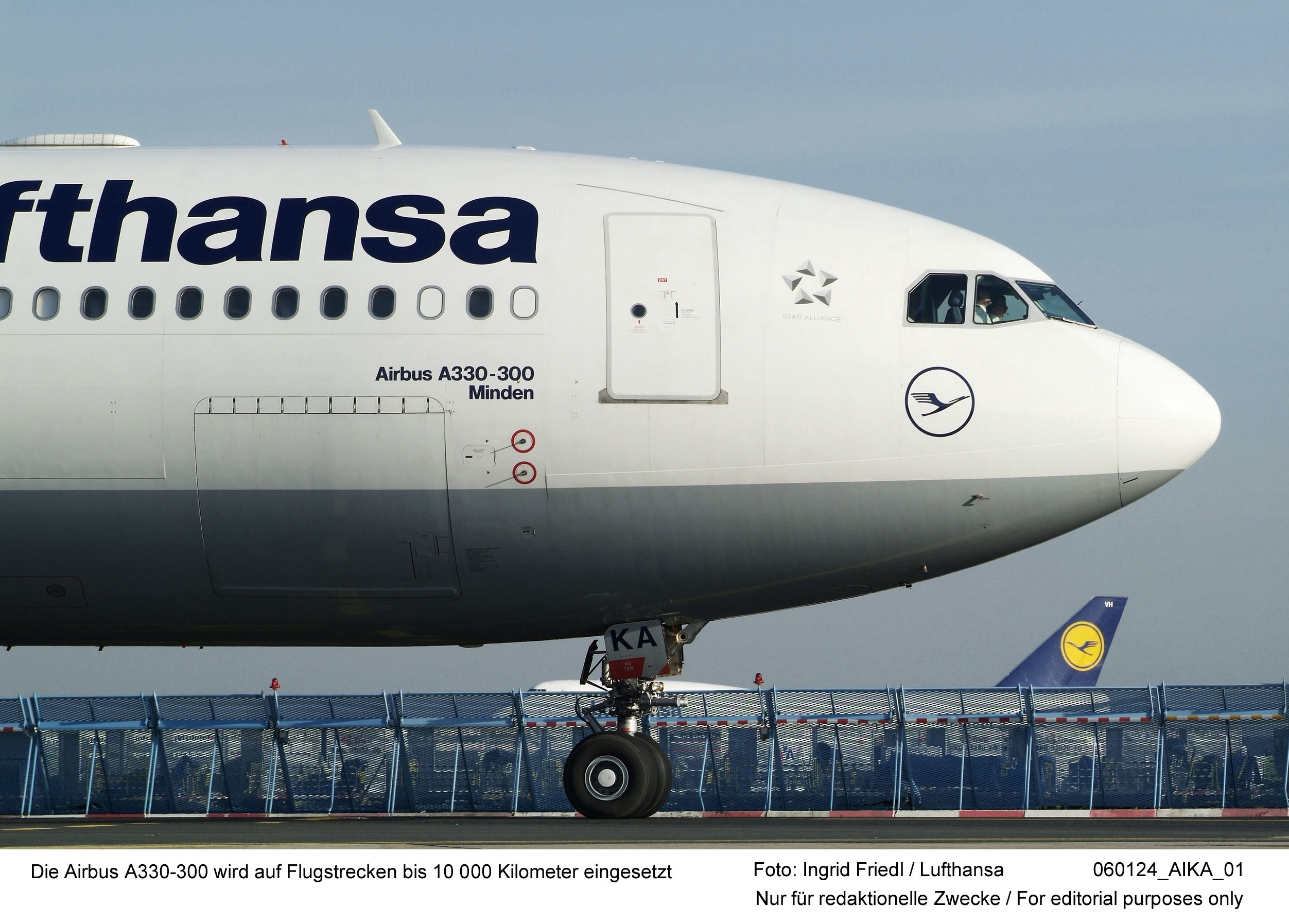 Lufthansa Airbus A330-300 (Foto: Ingrid Friedl Lufthansa: 01.2006 060124_AIKA_01)