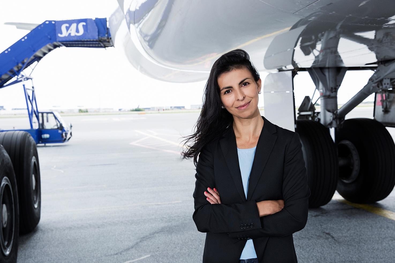 Pressechef Mariam Skovfoged fra SAS i Danmark (Foto: Thilde Dehlsen)