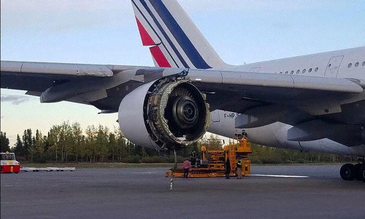 Air France Airbus A380-800 i Goose Bay, Canada (Foto: David Rehmar)