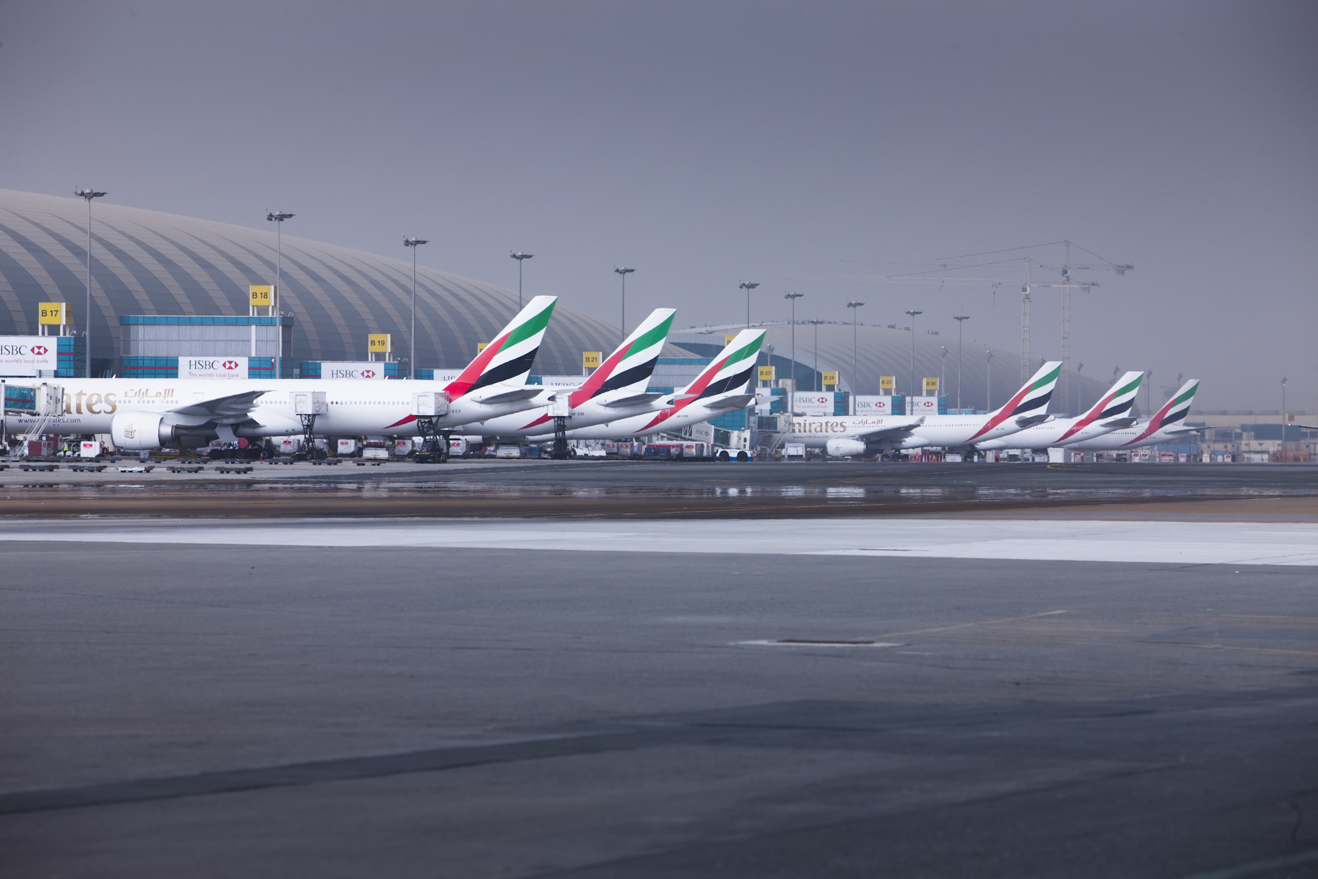 Foto: Dubai International Airport.