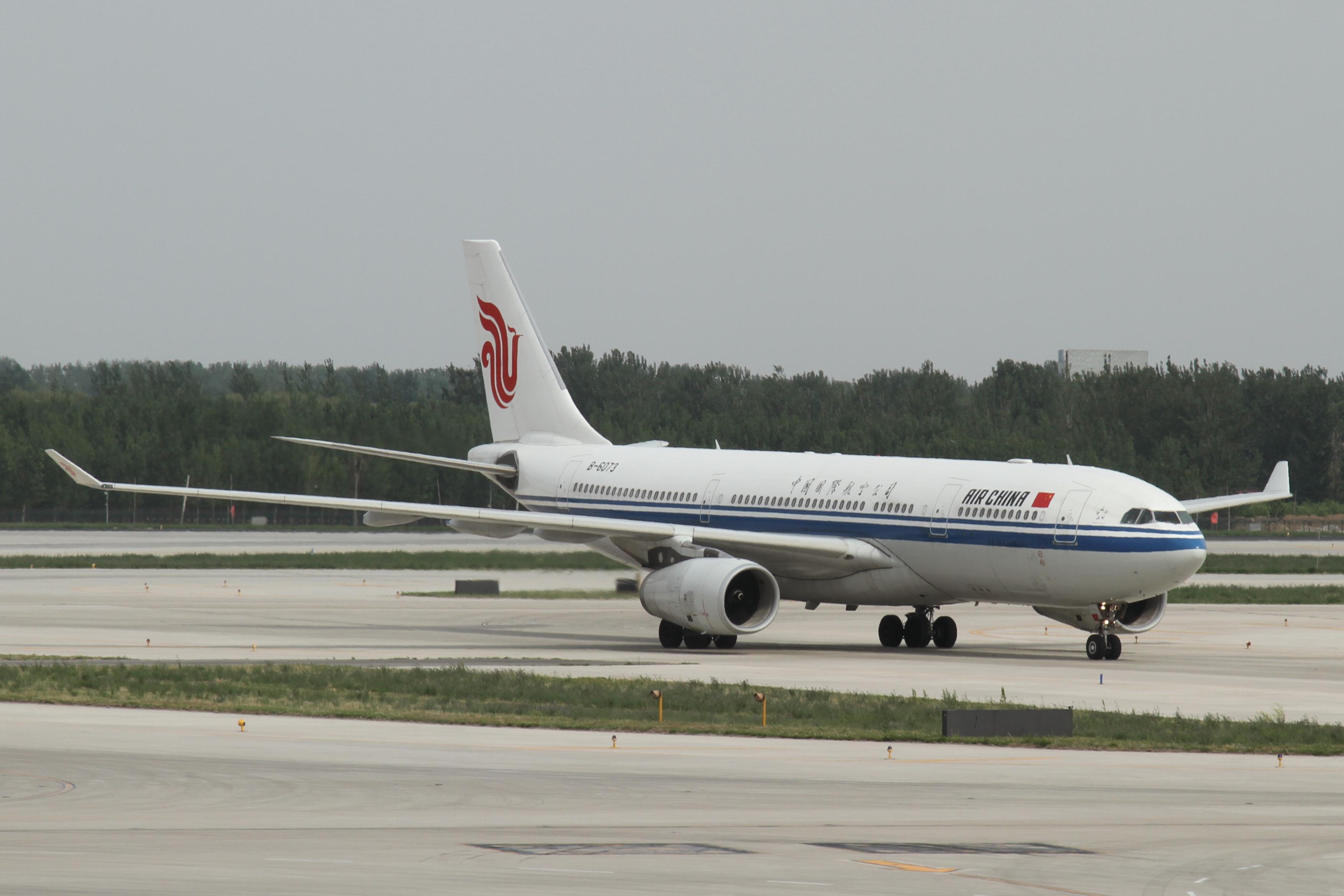 Airbus A330-200 fra Air China. (Foto: Kentaro Lemoto)